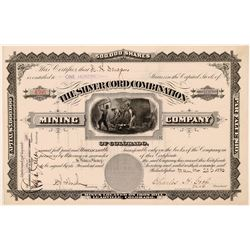 Silver Cord Combination Mining Company Stock - Leadville  (110959)