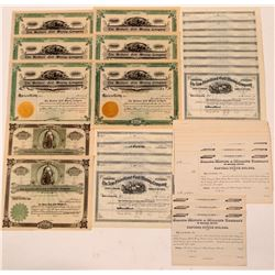 Colorado Unissued Mining Stock Certificates  (110953)