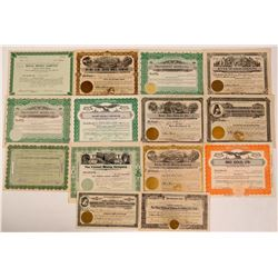 Nevada Mining Stock Certificate Collection  (107834)