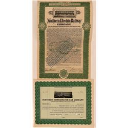 Calif and Wisconsin Co. Railroad Certificates  (112265)