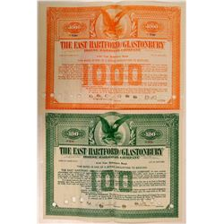 East Hartford & Glastonbury Horse Railroad Co Bonds (2)  (111275)