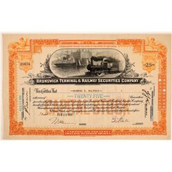 Brunswick Terminal & Railway Securities Company Stock  (111162)