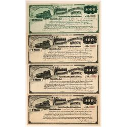 Holman Locomotive Speeding Truck Company Stocks  (107856)