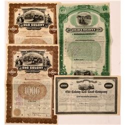 Old Colony Railroad Co. bonds  (110837)