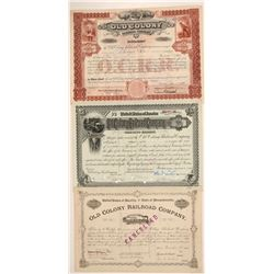 Old Colony Railroad Co. bonds  (110994)