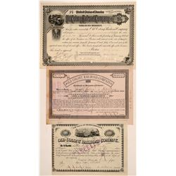 Old Colony Railroad Co. stocks/bonds  (110992)