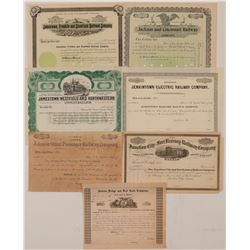 Various unissued RR certificates  (110017)