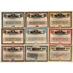 Delaware & Hudson Company Bond Certificates (9)  (111238)