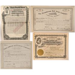 New York and Illinois RR bond/stock  (109966)