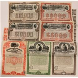 Cleveland, Cincinnati, Chicago & St Louis Railway Co Bond Group (7)  (111316)