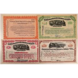 Cleveland, Cincinnati, Chicago & St. Louis Railway Co Stocks  (111188)