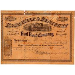 Knoxville & Kentucky Railroad Co.  (112000)
