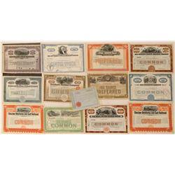 Railroad Stock Collection  (112096)