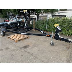 2014 LEGEND GLIDE ON PROFILE 2000 TRAILER, BLACK, VIN # 1MDAPAS14EA545375