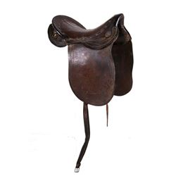 19th Century Plantation Working Saddle