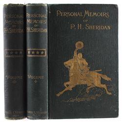 Personal Memoirs of P. H. Sheridan 1st Ed. 1888
