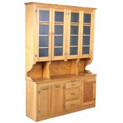 Antique Mercantile Haberdashery Kitchen Cabinet