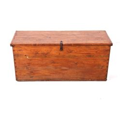 Mid 1900's Rustic Oak Dowry Hope Chest
