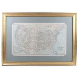 Gray's New Map of the U.S. by Frank A. Gray c1894