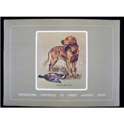 Remington Great Hunting Dog Art Portfolio By Kuhn
