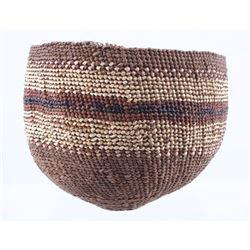 Early Paiute Native American Hand Woven Basket