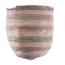 Early Large Paiute Native American Woven Basket