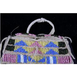 Cheyenne Beaded Tipi Occasional Bag Miniature 1900