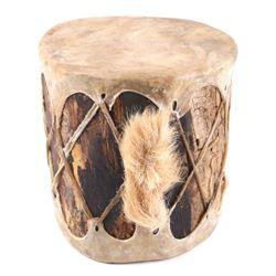 Northern Plains Indian Deer Rawhide Drum