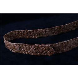 2002 Tsimshian Shoulder Basket Woven by Loa Ryan