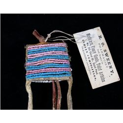 Sioux Medicine Man Beaded & Quilled Bundle 19th C