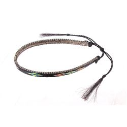 Deerlodge Prison Crafted Horsehair Hat Band