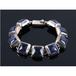 Mexico Sterling silver & Lapis Lazuli Bracelet
