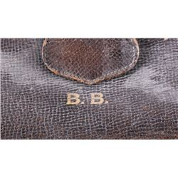 Vintage Leather Doctors Bag By B.B