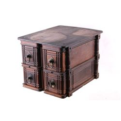 Sewing Machine Four Treadle Drawer Storage Box