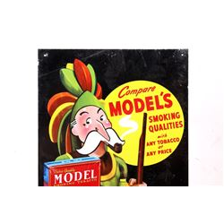 Models Pipe Tobacco Gas Station Advertisement sign