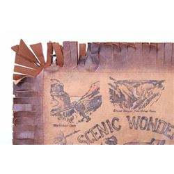 Scenic Wonders of Yellowstone Leather Cover