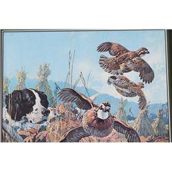 Remington UMC Upland Hunting Advertising Poster