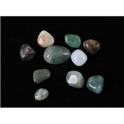Collection of Polished Jade Stones