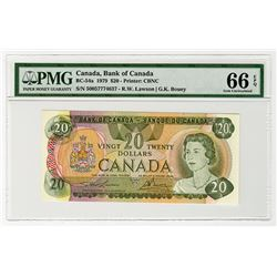 Bank of Canada. 1979. High Grade Issued Banknote.