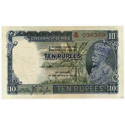 Government of India, British Administration ND. (1928-35) Issue Banknote.