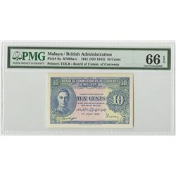 Board of Commissioners of Currency. 1941 (1945). Issued Banknote.