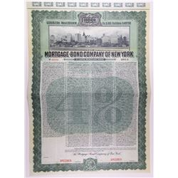 Mortgage-Bond Company of New York, 1906 Specimen Bond.