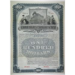United States Mortgage & Trust Co. 1900 Specimen Bond