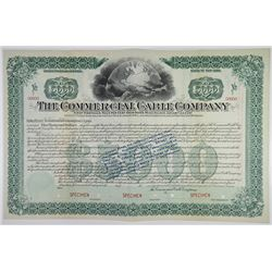 Commercial Cable Co. 1897 Specimen 500 Year Bond Rarity