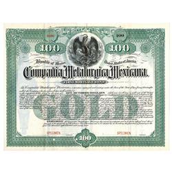 Compania Metalurgia Mexicana, 1897 Specimen Bond