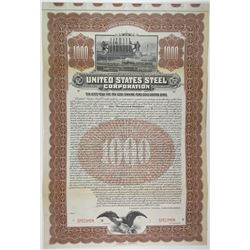 United States Steel Corp. 1903 Specimen Bond