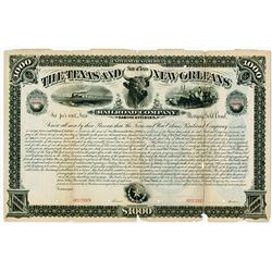 Texas and New Orleans Railroad Co. Sabine Division, 1882 Specimen Bond