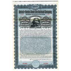 Detroit and Toledo Shore Line Railroad Co., 1903 Specimen Bond