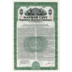 Kansas City Terminal Railway Co., 1944 Specimen Bond