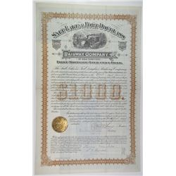 Salt Lake & Fort Douglass Railway Co. 1884 I/U Bond